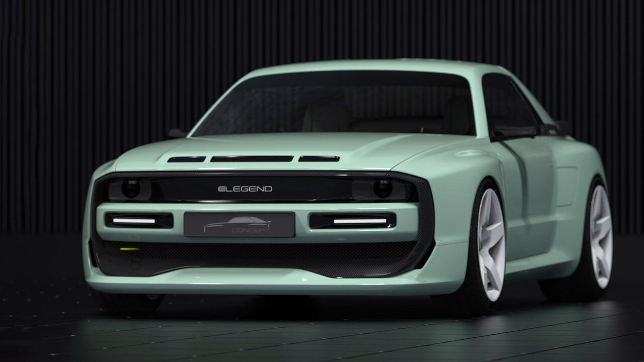 E-Legend EL1 Concept harks back to four-wheel rally machines of yore