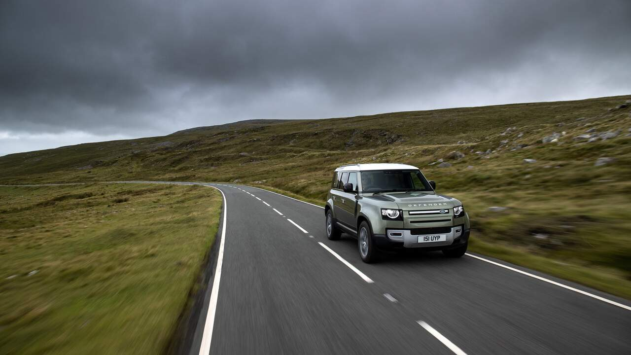 Jaguar Land Rover has created a hydrogen-powered Defender FCEV prototype