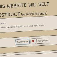 Self-destructing website is a time capsule of pandemic messages