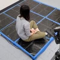 MIT tactical sensing carpet estimates human poses without a camera