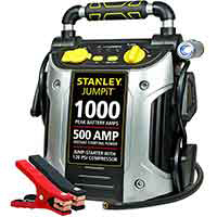 STANLEY 1000A 12V Car Jump Starter with 120PSI Air Compressor