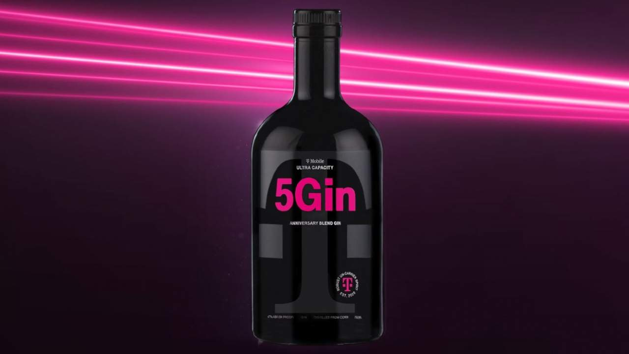 T-Mobile will sell a limited edition 5G-inspired gin starting tomorrow