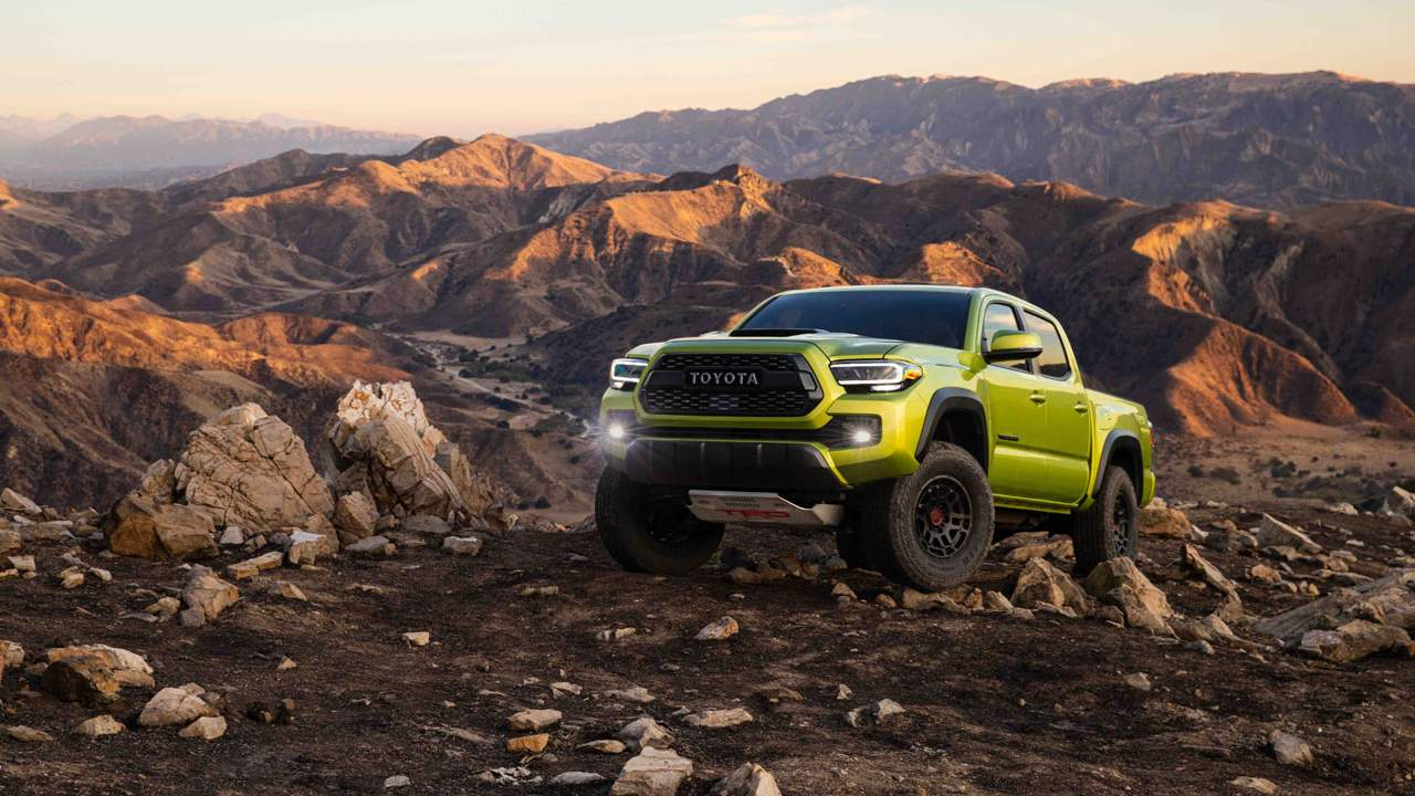 2022 Toyota Tacoma TRD Pro gains improved suspension and style