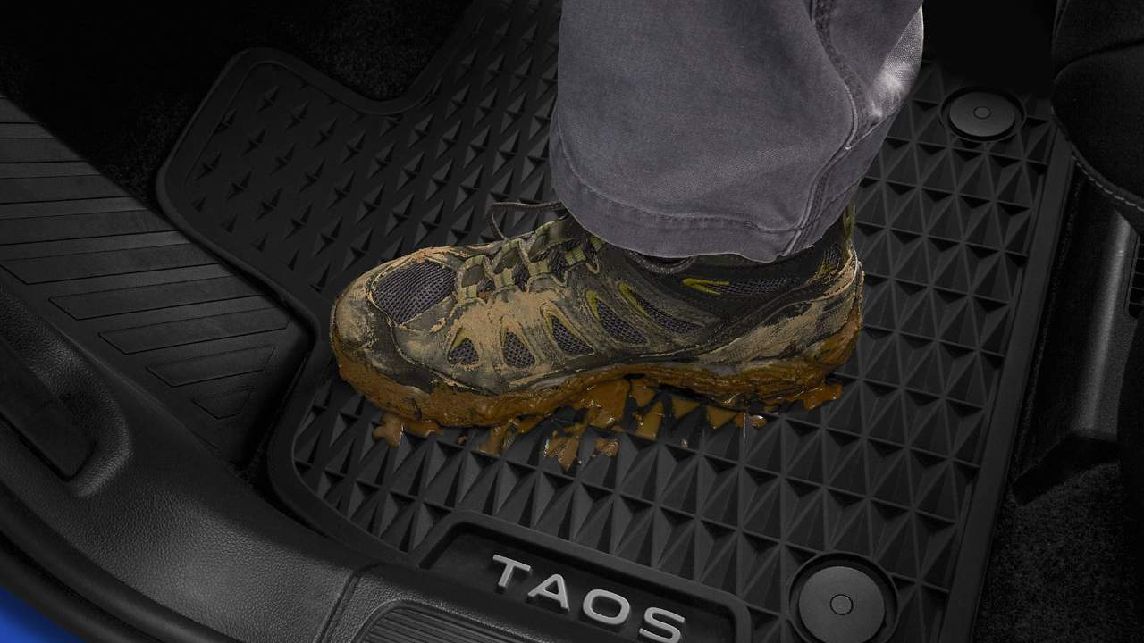 Volkswagen reveals a complete accessory line for the Taos SUV