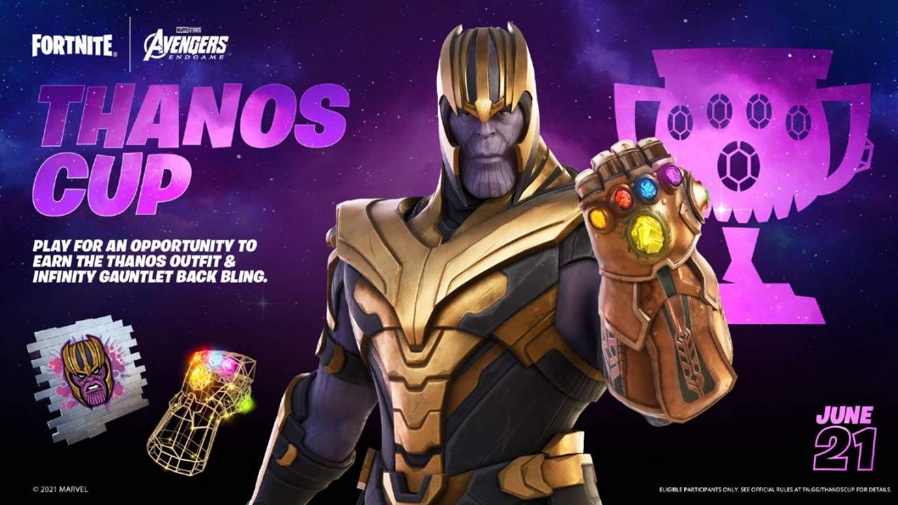 Thanos returns to Fortnite: How to get the skin and back bling for free