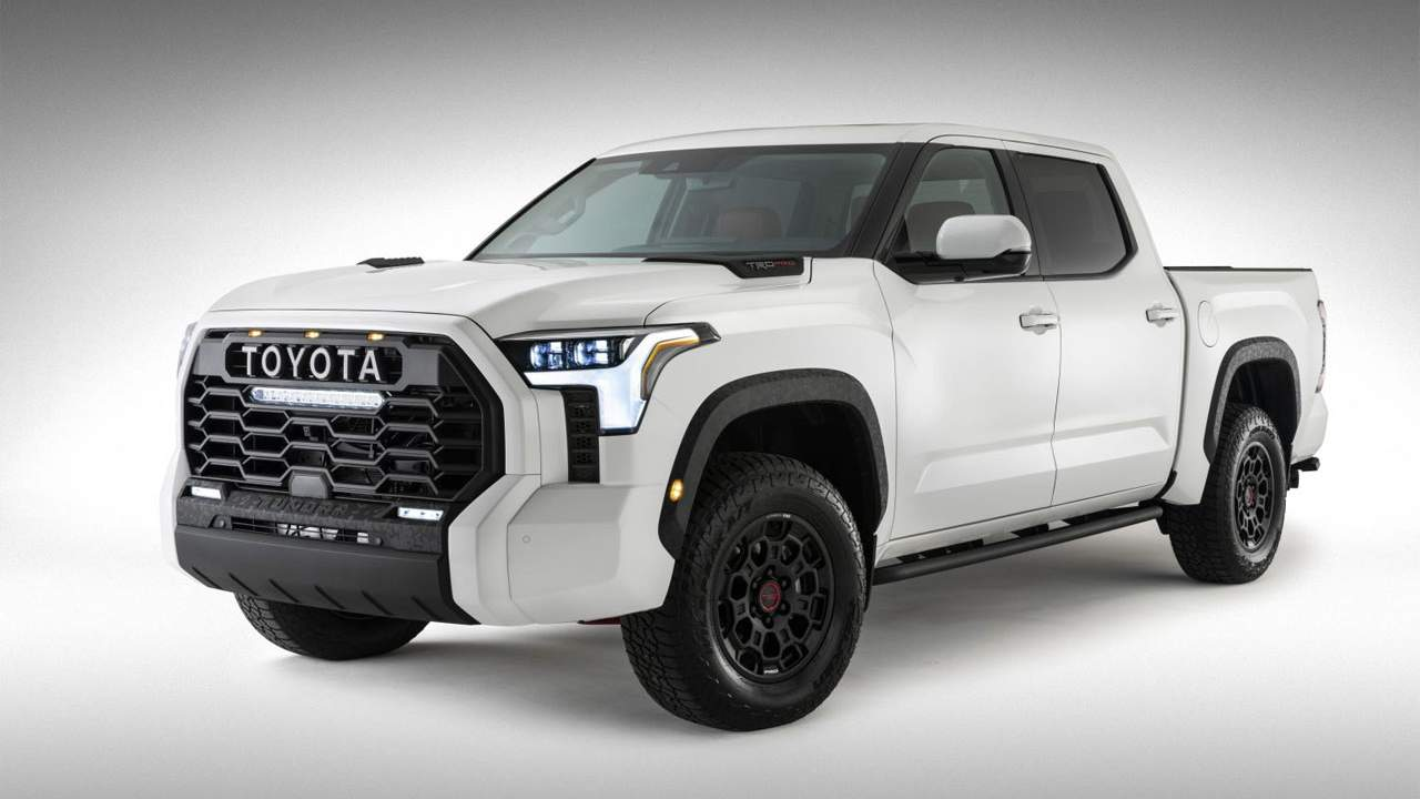 Toyota foils leakers by offering an official image of the 2022 Tundra