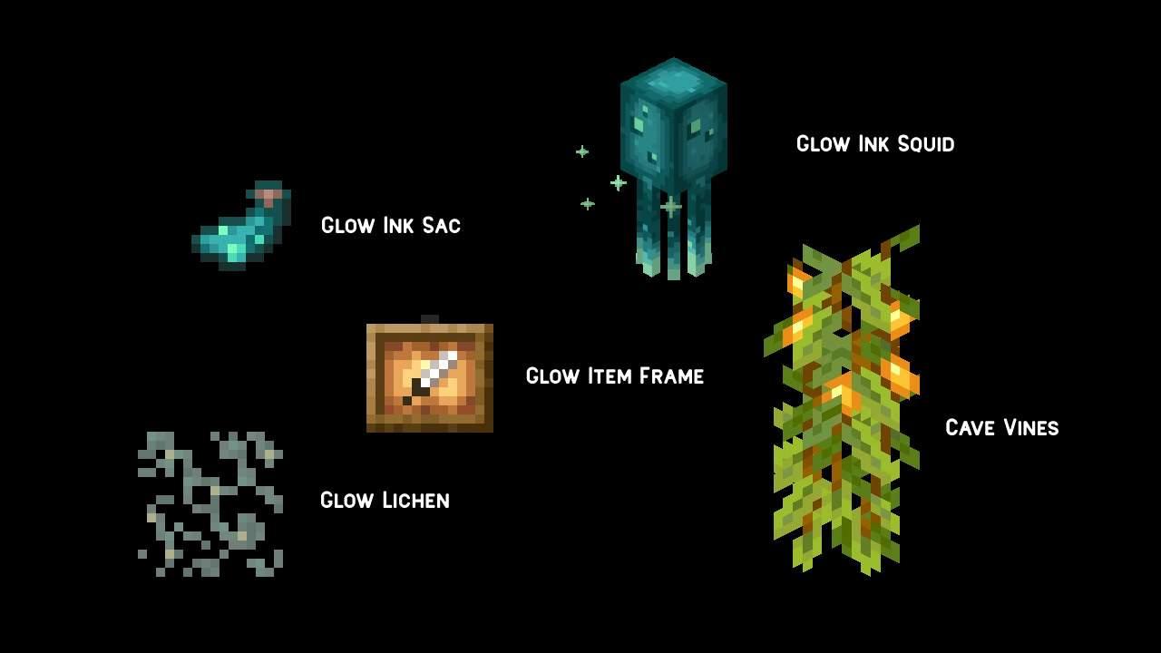 Minecraft adds new ways glow and emit light