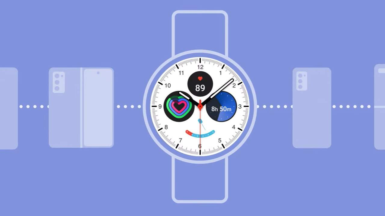 Samsung Google smartwatch OS at MWC 2021: One UI on top