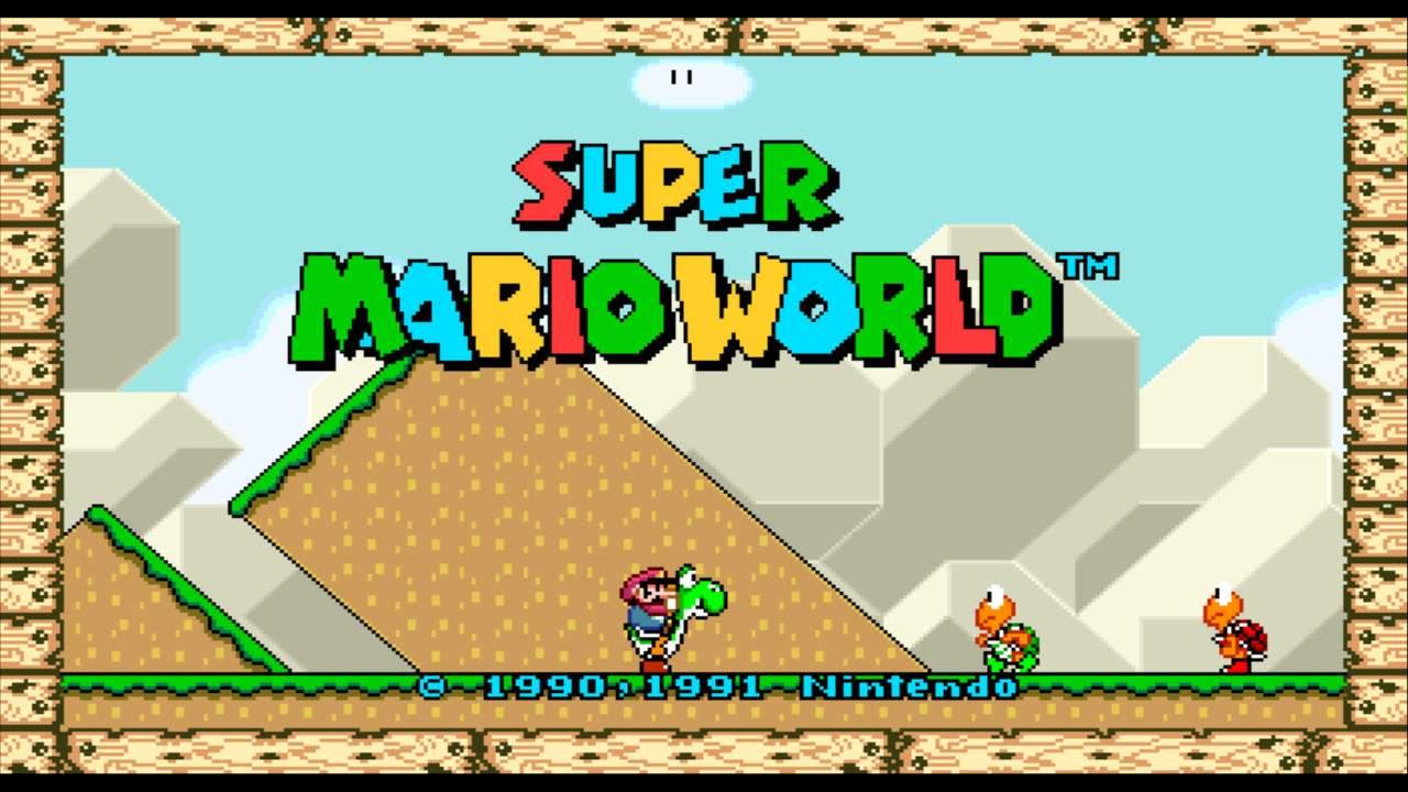 Super Mario World gets a long-overdue widescreen mod