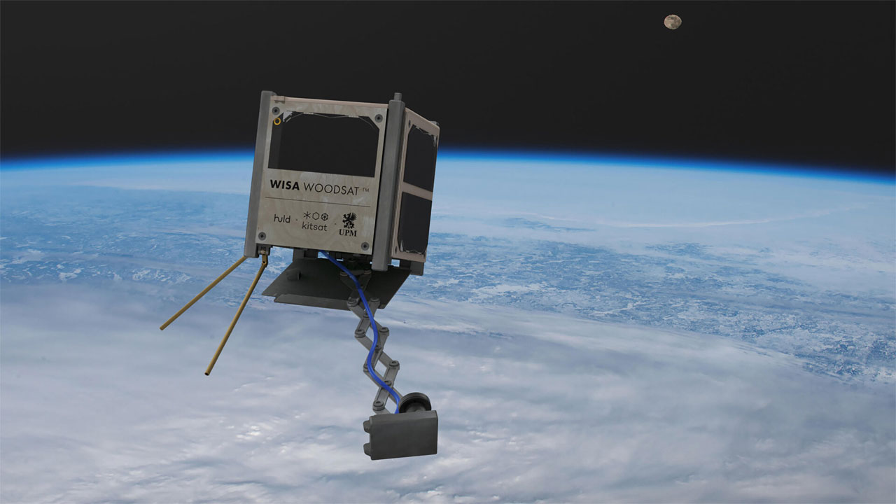 ESA contributes to wooden WISA Woodsat mission