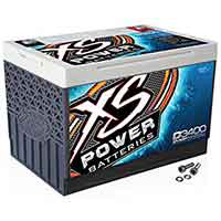 XS Power D3400 XS Series 12V 3,300 Amp AGM with M6 Terminal Bolt