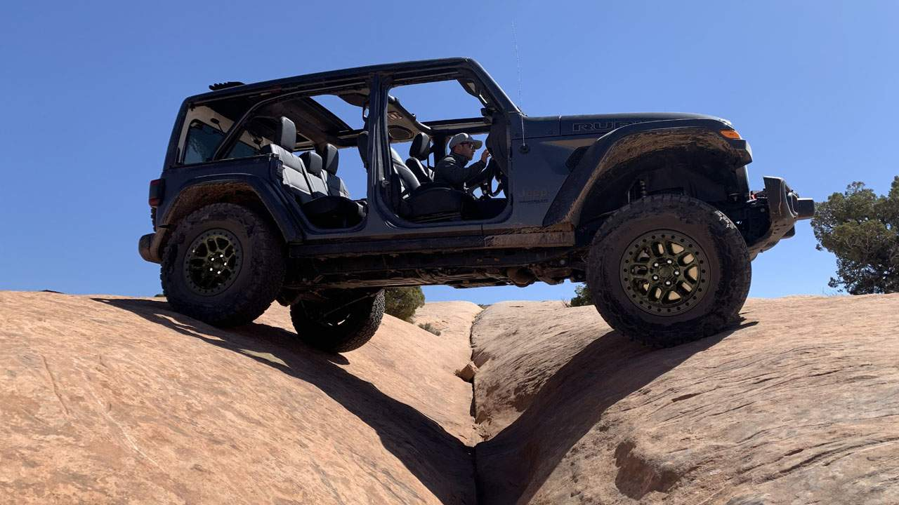 Jeep shows off Wrangler Xtreme Recon Package