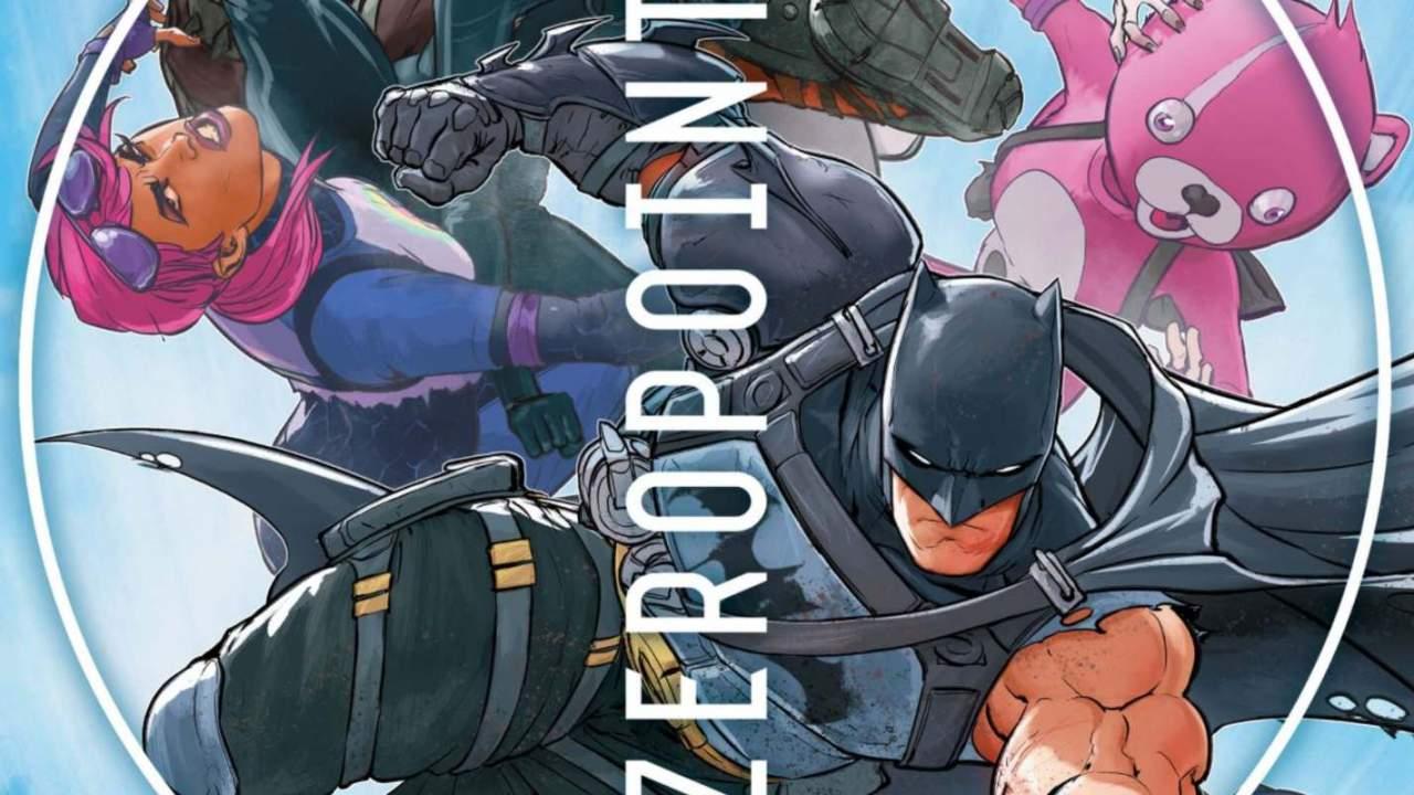 DC Comics' latest Batman/Fortnite issue offers free Deathstroke glider