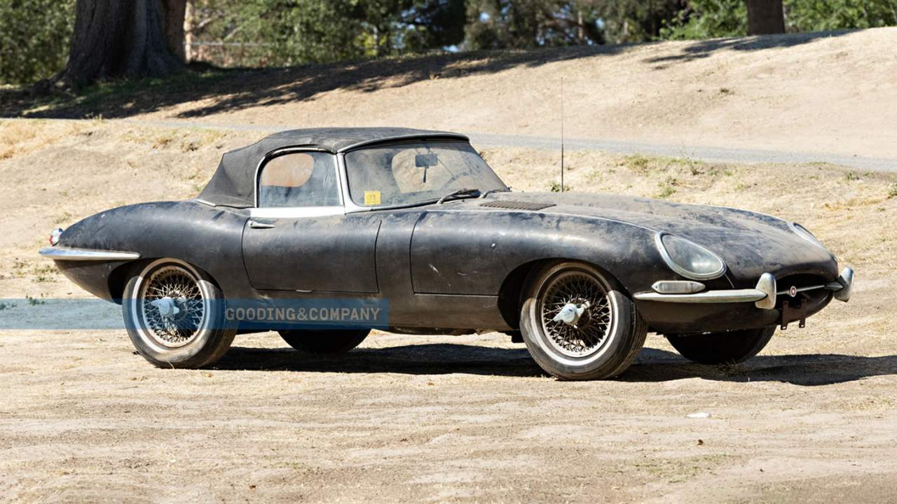1965 Jaguar E-Type Series I 4.2-liter roadster heads to auction