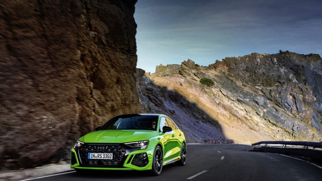 2022 Audi RS3 debuts with more power and track-ready styling