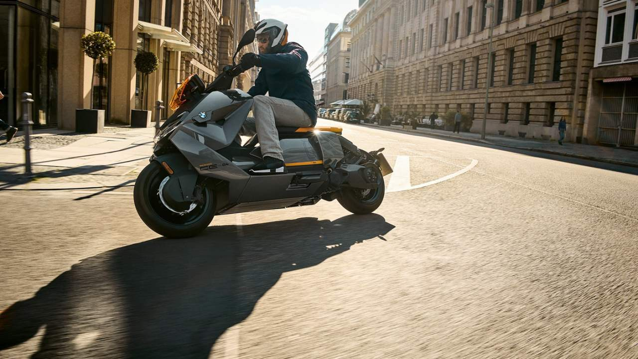 The BMW CE 04 is an EV scooter with sci-fi movie style but a very real price tag