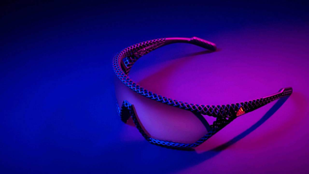 Adidas 3D CMPT limited-edition sunglasses are made with 3D printing