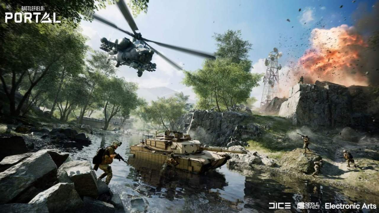 Battlefield 2042's Portal platform is what super-fans like me have been waiting for
