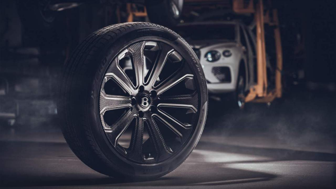 Bentley Bentayga's new composite wheels are the first to earn TÜV certification
