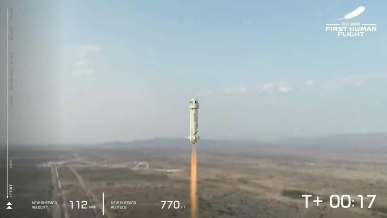 Blue Origin just sent Jeff Bezos into space