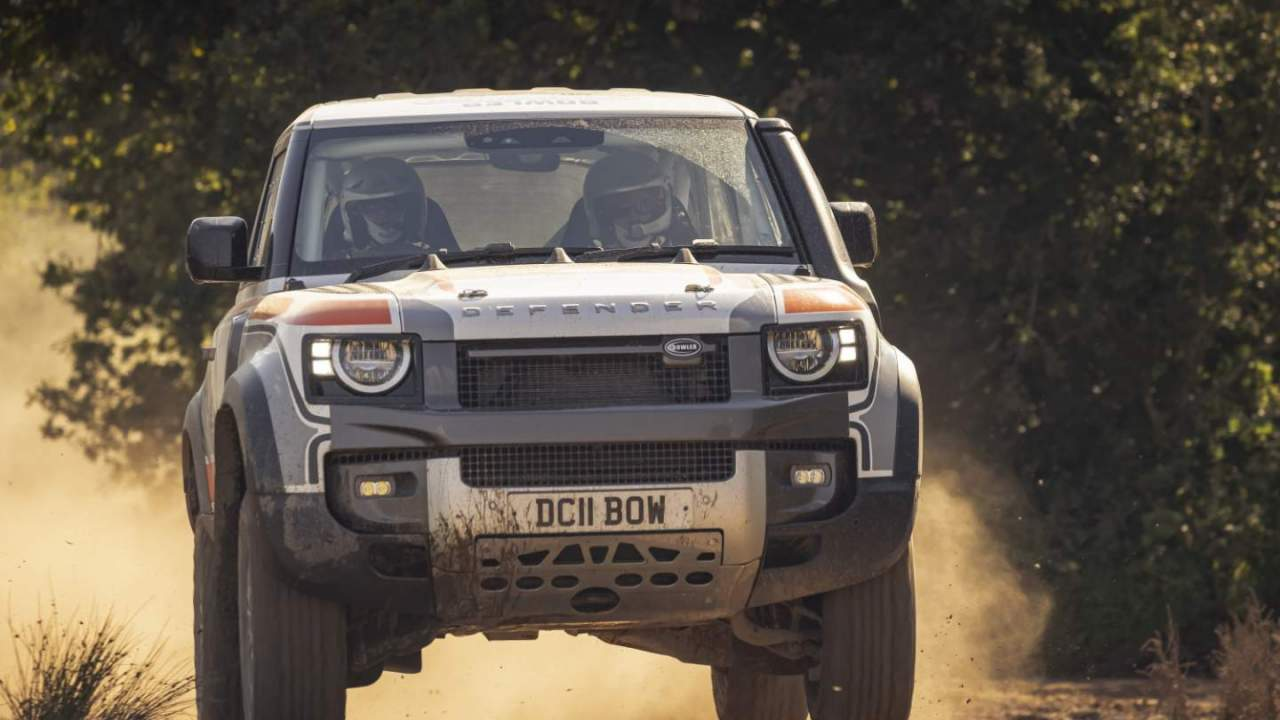 Bowler debuts Land Rover Defender 90 for one-make rally series