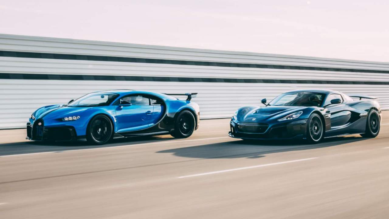 Bugatti Rimac sees old and new hypercar royalty join forces