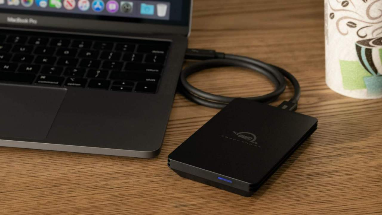 OWC's Envoy Pro SX rugged Thunderbolt SSD is perfect for klutzes