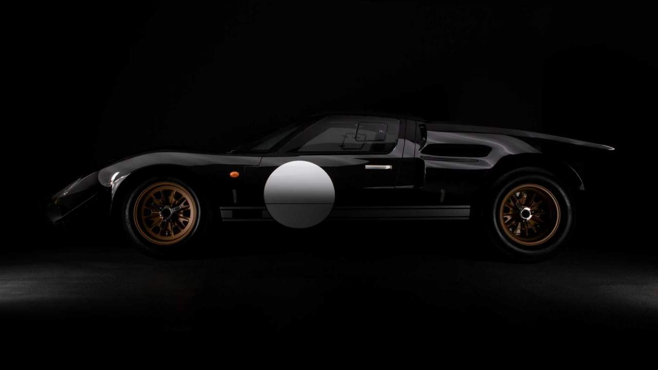 Everrati partners with Superperformance in creating this electric Ford GT40
