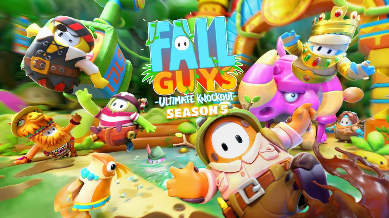Fall Guys season 5 serves up new rounds, challenges, and modes this week