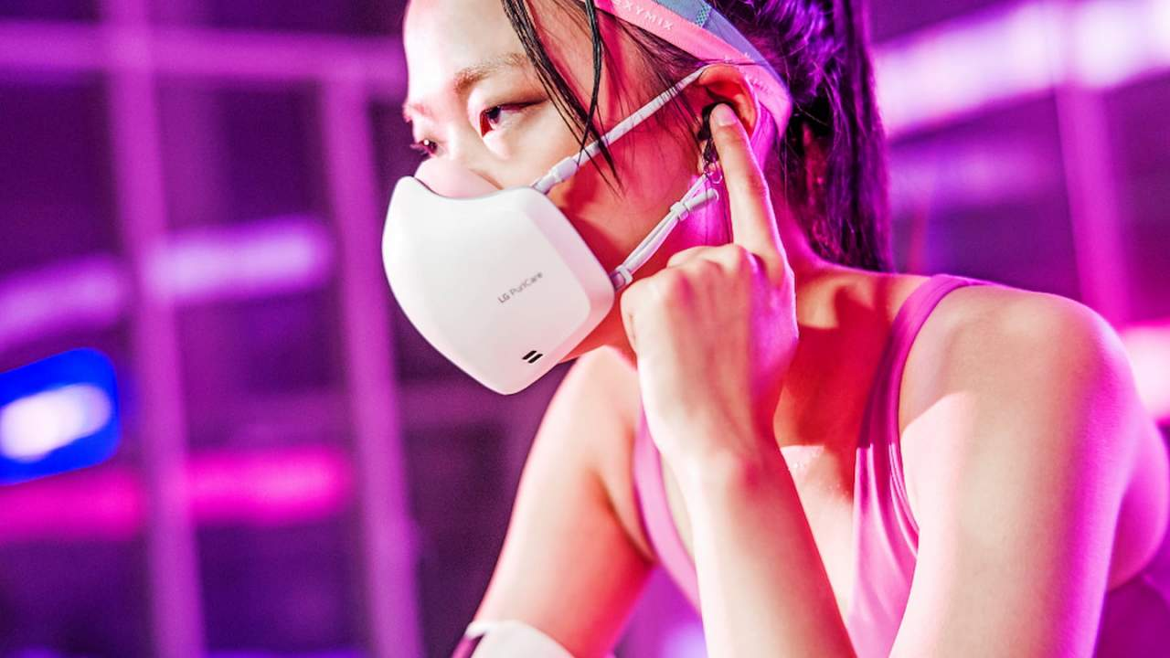 LG PuriCare Wearable Air Purifier mask is back and it's a lot more practical