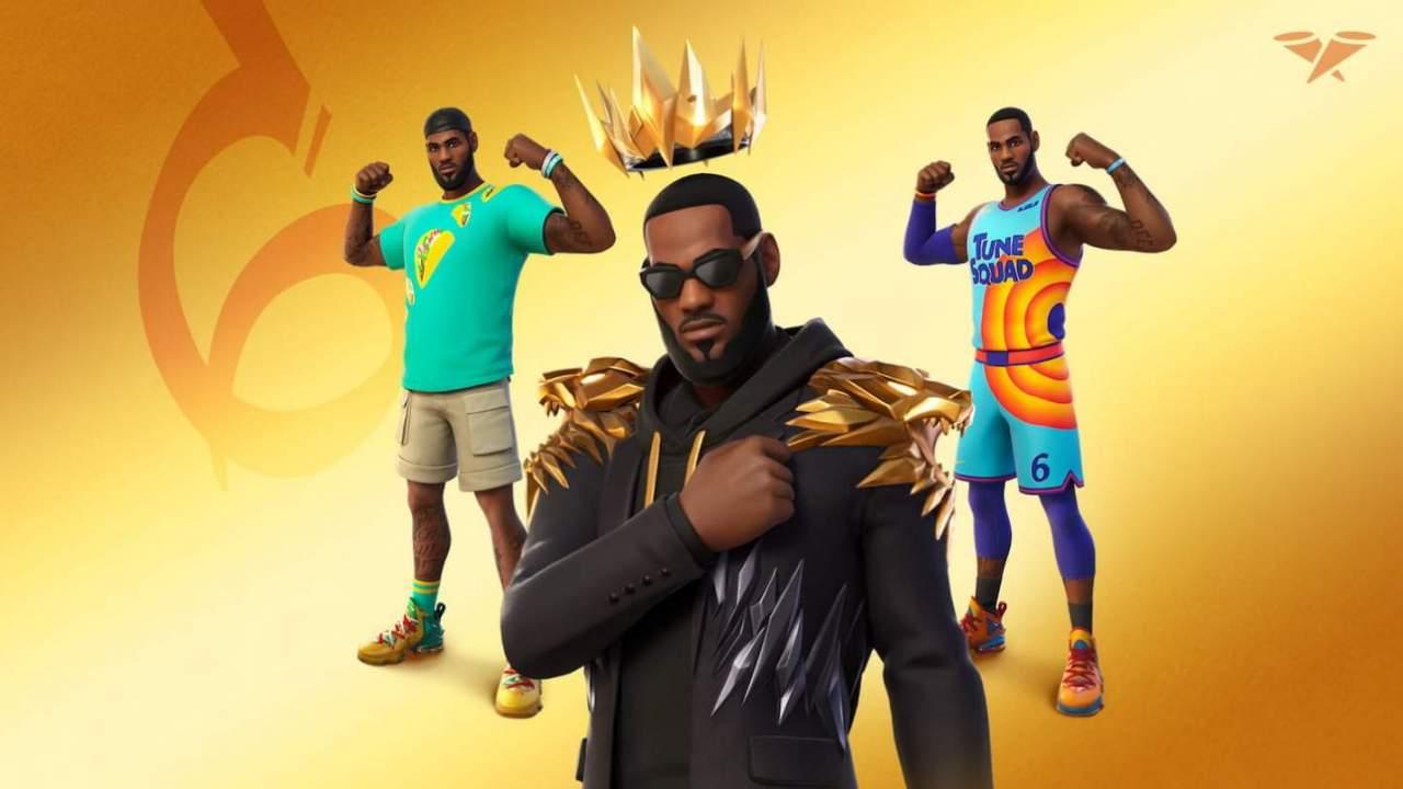 LeBron James arrives in Fortnite this week
