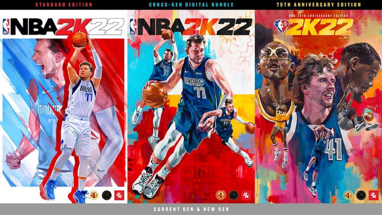 NBA 2K22 revealed: All the editions and cover athletes