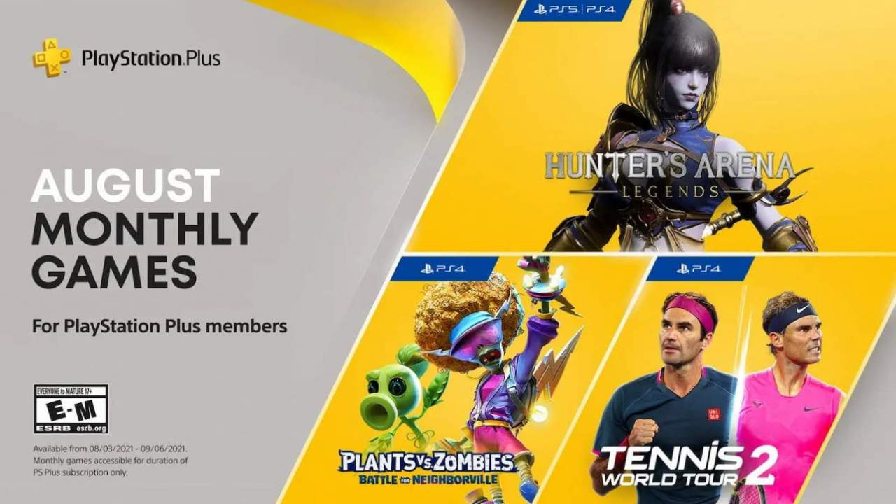 PlayStation Plus games for August include a new release for PS4 and PS5