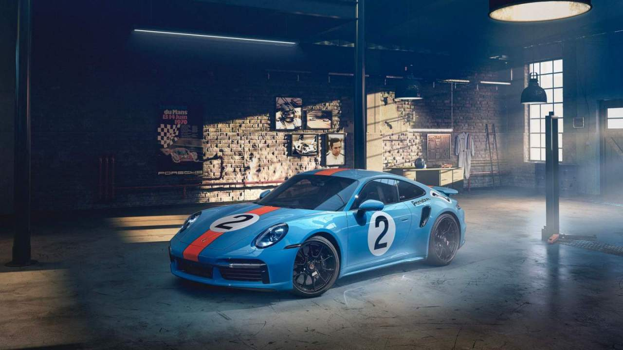 This Porsche 911 Turbo S pays homage to Mexican driving ace Pedro Rodriguez