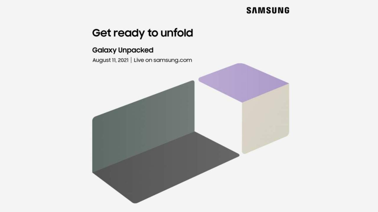 The next Samsung Unpacked is August 11: Foldables on the menu