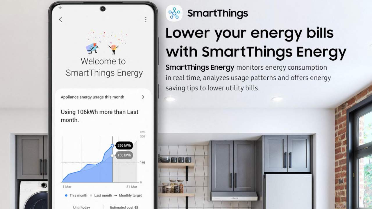 Samsung SmartThings Energy can monitor your power consumption
