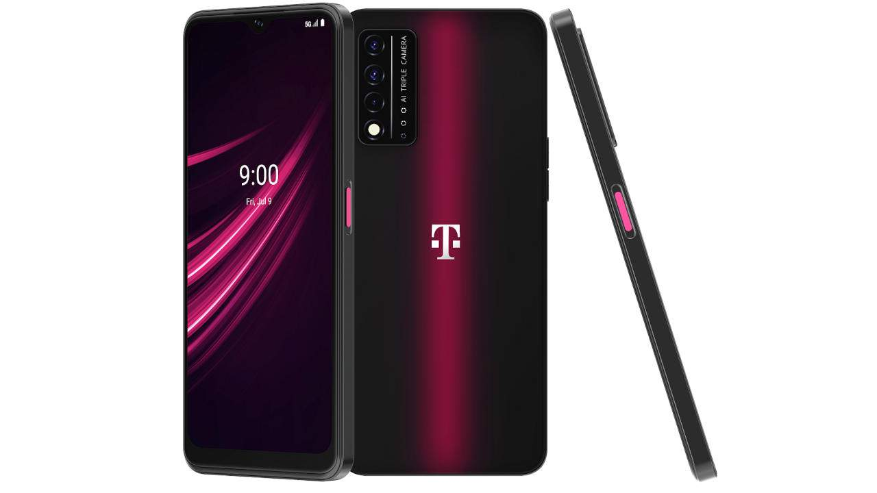 T-Mobile REVVL V+ 5G doesn't look too shabby for its price