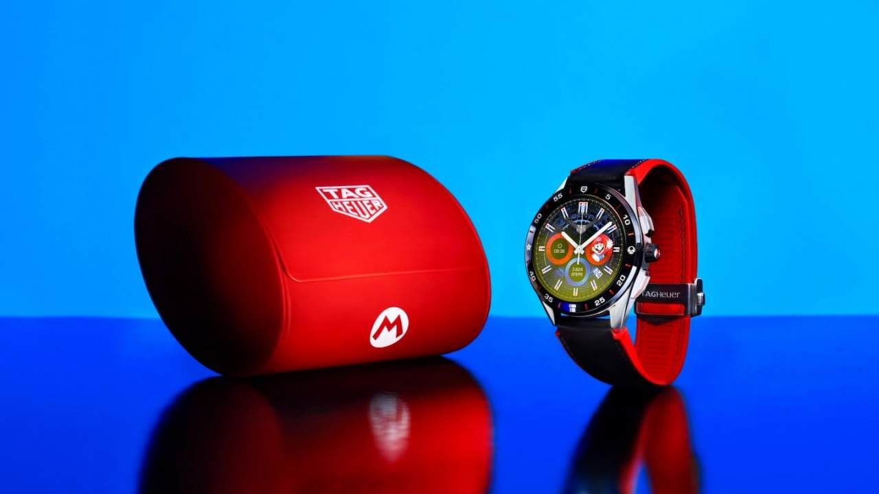 TAG Heuer Super Mario smartwatch revealed with a hefty price tag