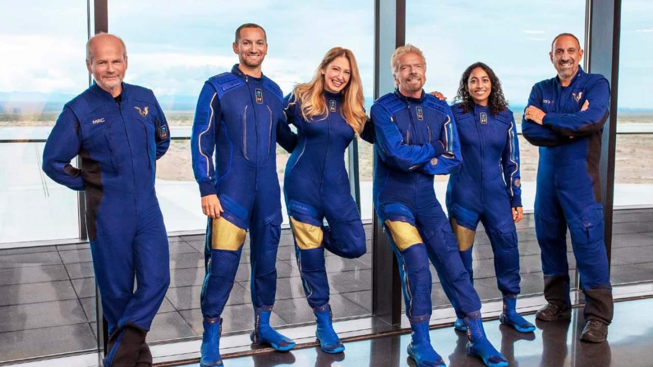 Virgin Galactic's next crewed test flight will include Richard Branson