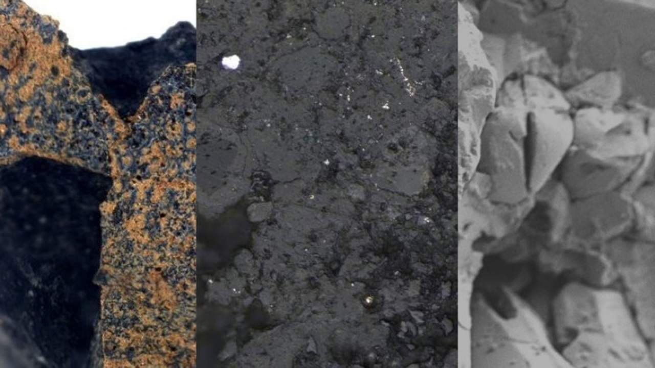 Ancient meteorite is a remnant from the birth of the solar system