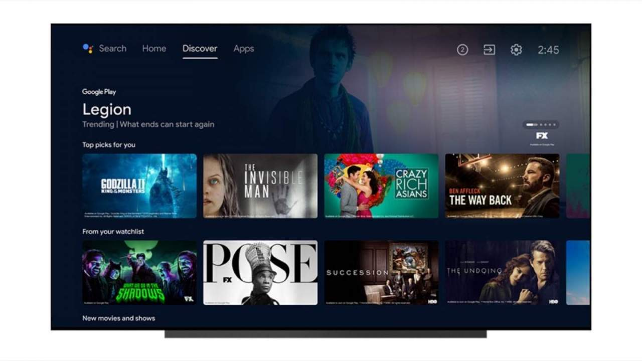 Android TV update adds new ways to cut through content overload