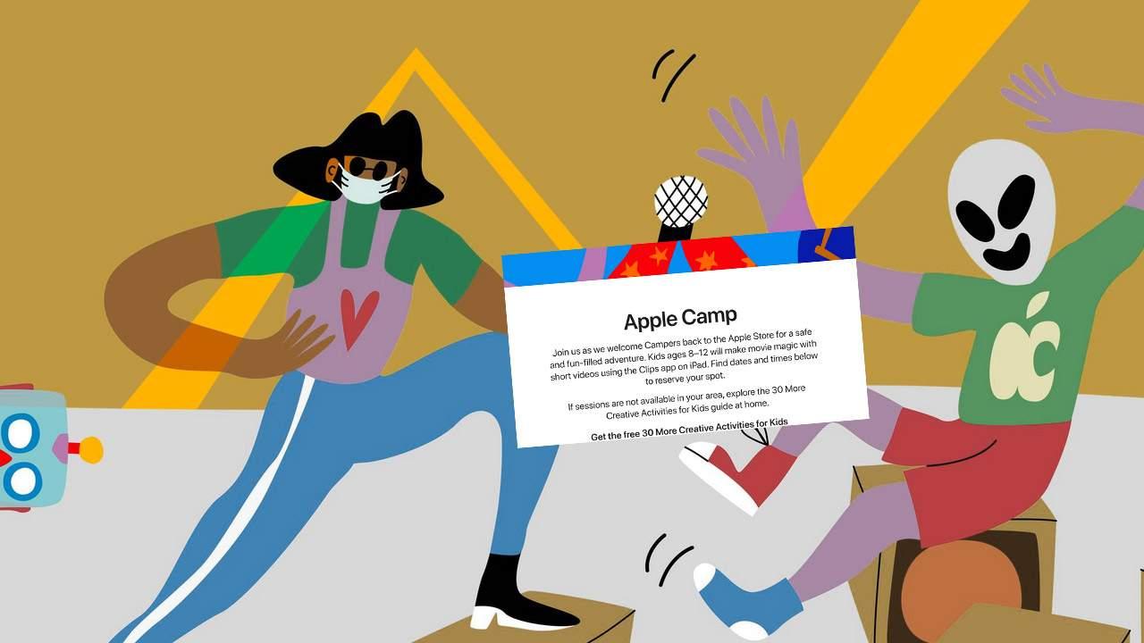 Apple Camp returns, bringing kids back to Apple Store events