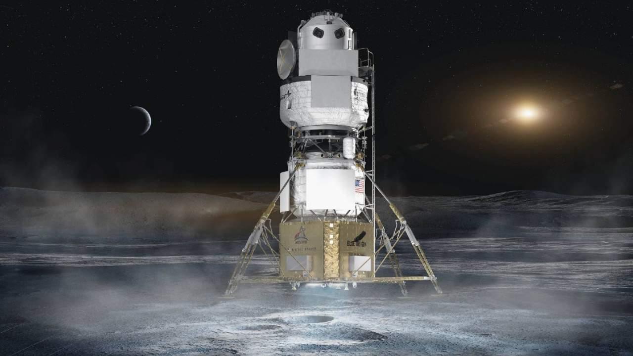 Jeff Bezos offers NASA $2bn cut to get Blue Origin back in Artemis