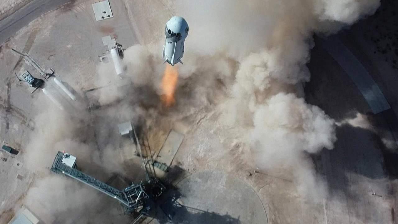 Blue Origin's $28m space auction winner took a raincheck so this 18yo goes instead