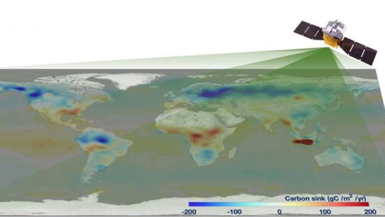 Chinese satellite reveals global net carbon has reached six gigatons