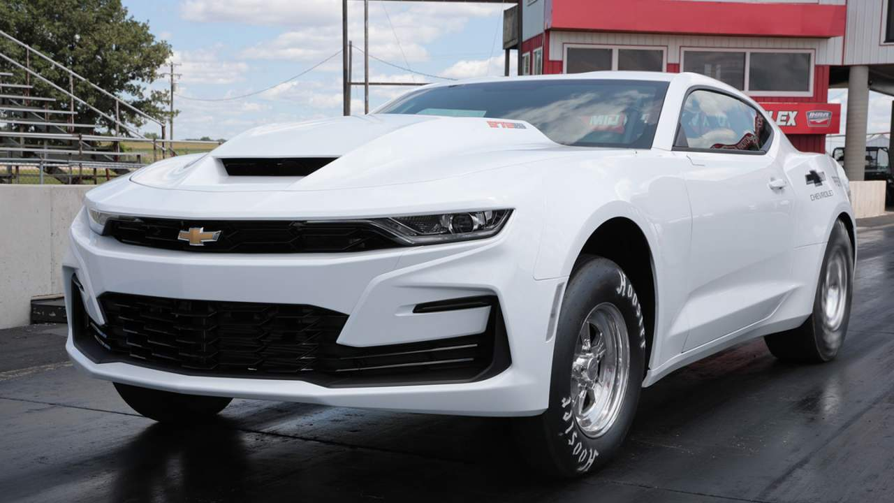 Chevrolet COPO Camaro gains a big block option for 2022