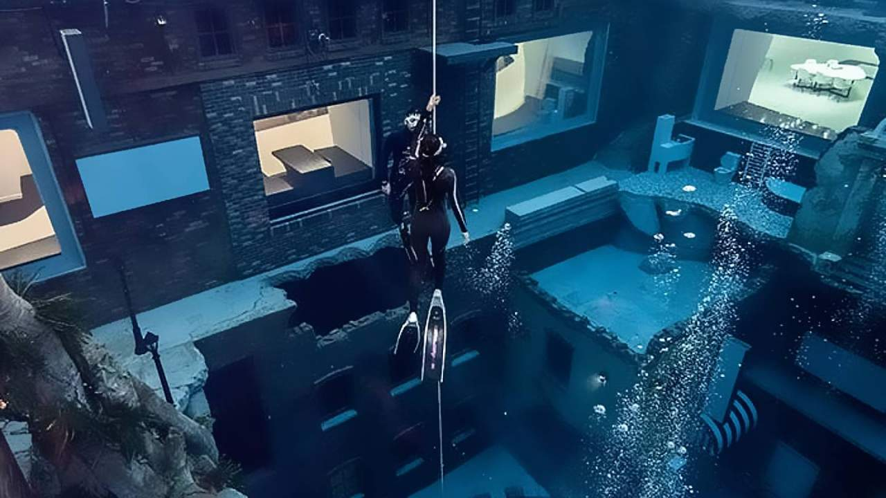 Dubai reveals world's deepest swimming pool and it has a fake sunken city