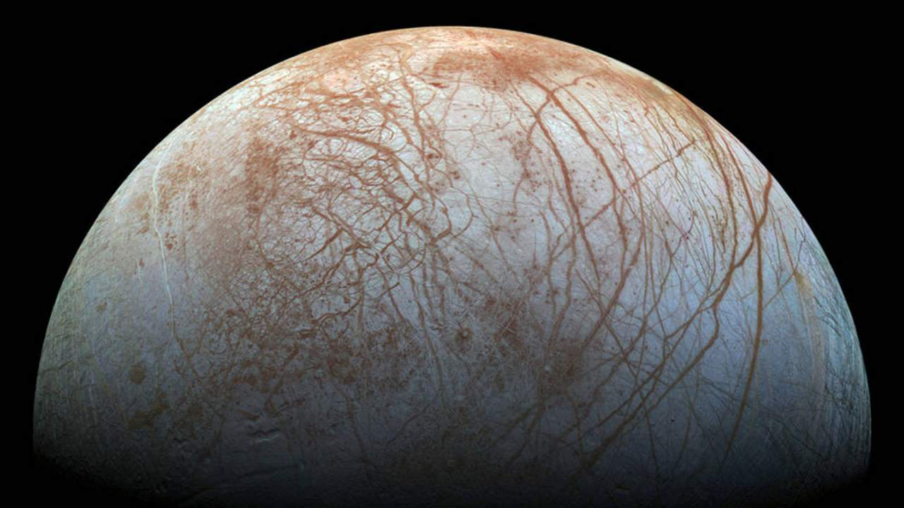 Scientists study the cumulative effects of small impacts on the surface of Europa