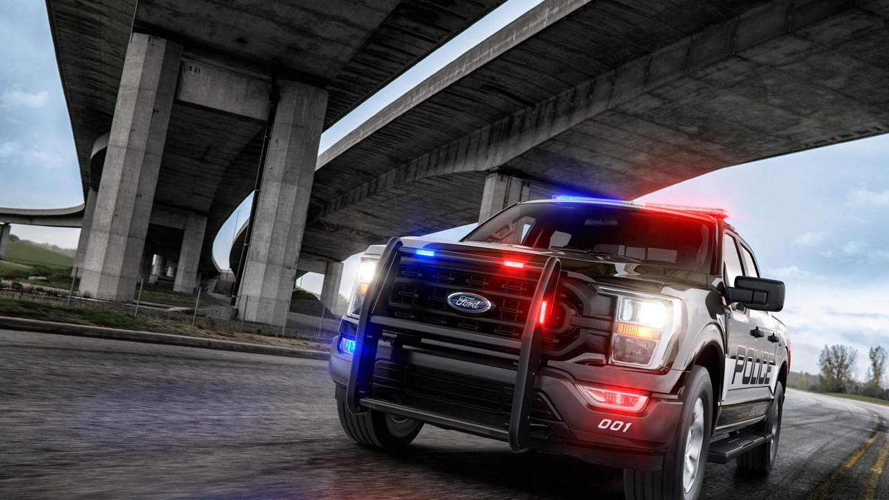 Ford F-150 Police Responder is the fastest accelerating police vehicle