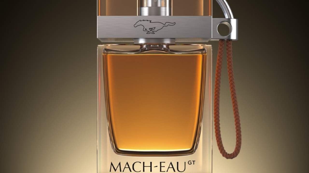 Ford Mach-Eau novelty fragrance offers gasoline scent for EV owners